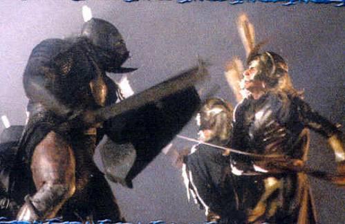 Эльф против Орка