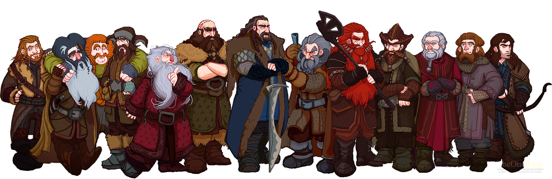 Торин и Отряд (Thorin and Company)