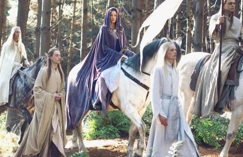 Где в Средиземье живут Эльфы?